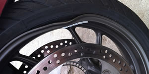 motorcycle rim repair